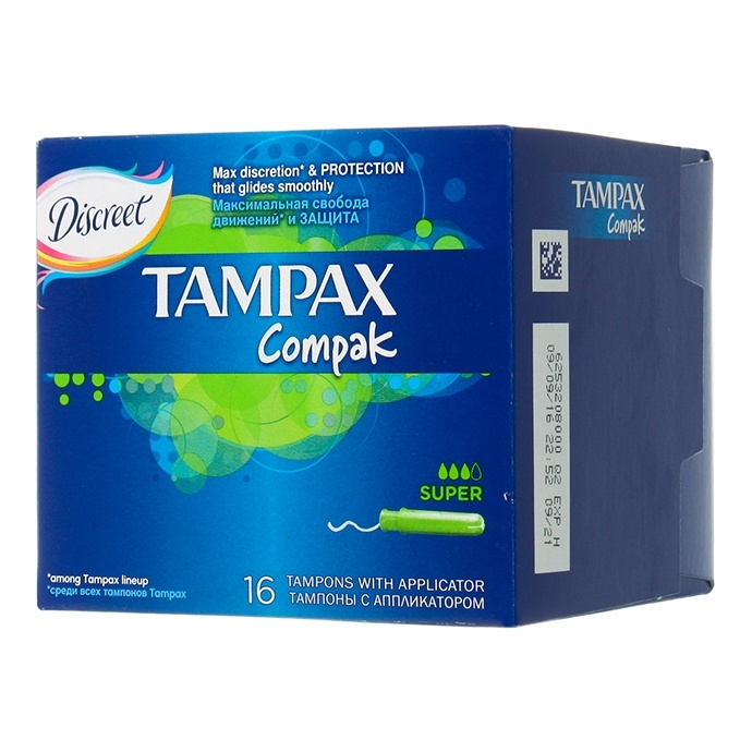 Picture of girls using tampax 2